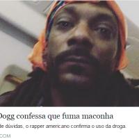 Após anos de dúvidas: Snoop Dogg confessa que fuma maconha