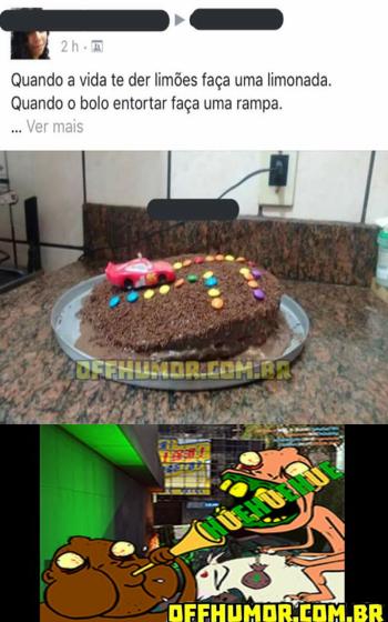 Resultado de imagem para bolo rampa